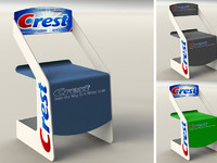 Product Stand for Crest